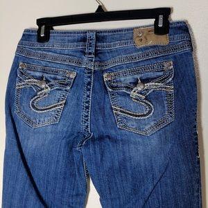 🔵 Silver Suki Surplus Jeans